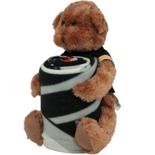 Northwest Pittsburgh Steelers 40 x 50 Fleece Blanket with Bear