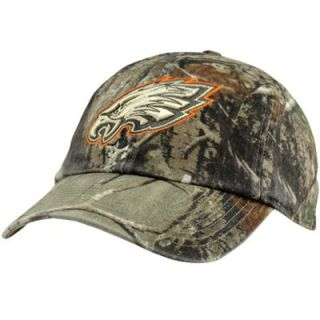 47 Brand Philadelphia Eagles Clean Up Adjustable Hat   Realtree Camo