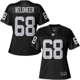 Pro Line Womens Oakland Raiders Jared Veldheer Team Color Jersey