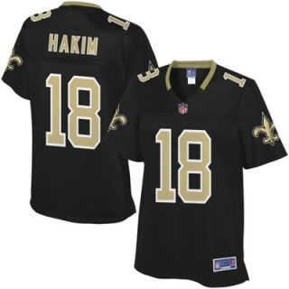 Pro Line Womens New Orleans Saints Saalim Hakim Team Color Jersey
