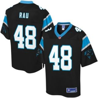 Pro Line Mens Carolina Panthers Ryan Rau Team Color Jersey