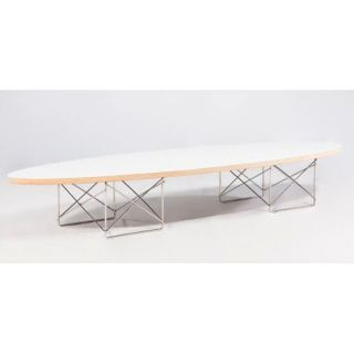 Wire Leg Coffee Table   White   Modern Coffee & Accent Tables