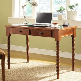 Homelegance Writing Desk with Helix Legs   Writing Desks