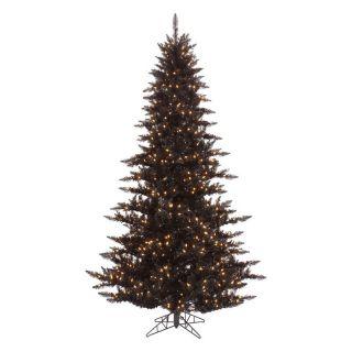Vickerman Black Fir Pre lit Christmas Tree   Christmas Trees
