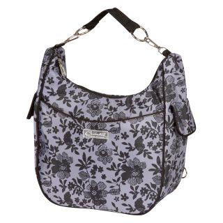 Bumble Collection Chloe Convertible Diaper Bag   Lace Floral   Designer Diaper Bags