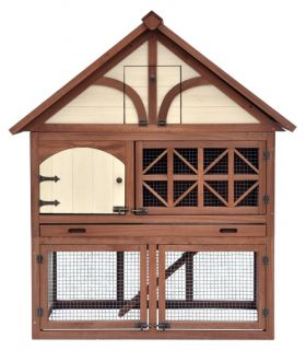 Merry Products Tudor Rabbit Hutch   Rabbit Cages & Hutches