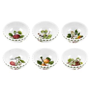 Portmeirion Pomona Classics Individual Fruit/Salad Bowl   Set of 6   Soup & Pasta Bowls