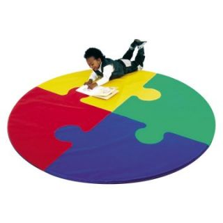 Children's Factory Round Puzzle Activity Mat   Soft Play Equipment