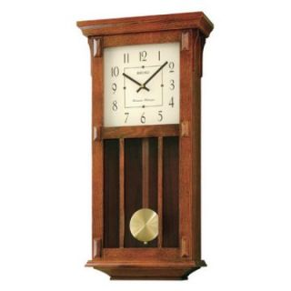 Seiko Mission Pendulum Wall Clock   12.5 in. Wide   Wall Clocks