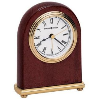 Howard Miller Rosewood Desktop Clock   Alarm Clocks