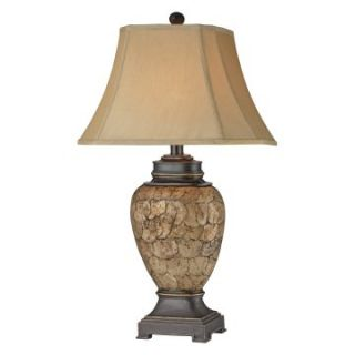 Stein World 96790 Urn Shell Table Lamp   Pack of 2   Table Lamps
