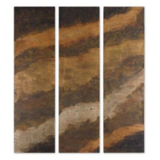 Hot as Fire Wood Wall Art   Set of 3   20W x 72H in.   Wall Sculptures and Panels