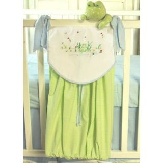 Brandee Danielle Sammy Frog Diaper Stacker   Nursery Decor