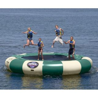 20 ft. RAVE Northwoods Bongo Water Bouncer Package   Water Trampolines