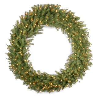 60 in. Norwood Fir Pre Lit Christmas Wreath   Christmas Wreaths