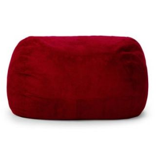 Relax Sack Medium Oval Microsuede Foam Bean Bag   Bean Bags
