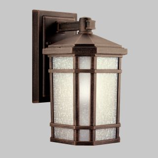 Kichler Cameron 97 Outdoor Wall Lantern   Prairie Rock   Outdoor Wall Lights