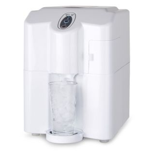 Countertop Flake Ice Maker : ... HPIMD25W Portable/Countertop Ice Maker Dispenser White Ice Machines