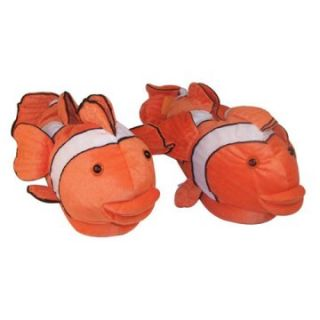 Comfy Feet Clown Fish Animal Feet Youth Slippers   Kids Slippers