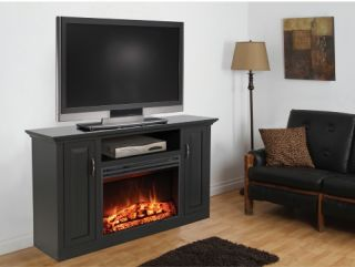 Muskoka Clayton Media Electric Fireplace   Electric Fireplaces