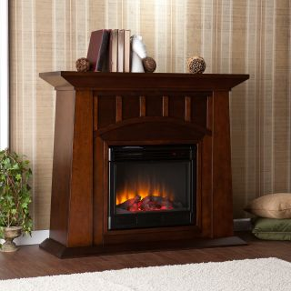 Myron Electric Fireplace   Espresso   Electric Fireplaces