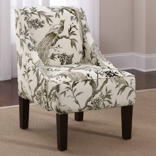 Roberta Winter Swoop Arm Chair   Upholstered Club Chairs