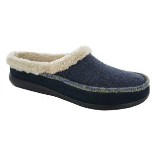 Hildie Womens Scuff Slippers by Daniel Green   Denim   Womens Slippers