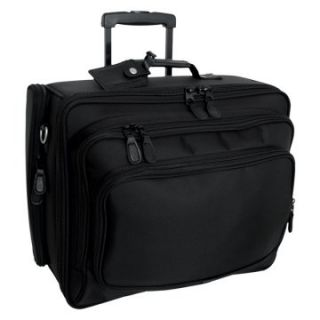 Mercury Luggage Signature Series Wheeled Computer Case   Computer Laptop Bags