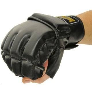 "Pro PU FreeFight MMA Handschuhe ""Combat Grappling"" schwarz: Sport & Freizeit"