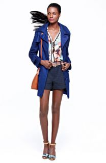 Kristen Blake Trench Coat, Ace Delivery Top & Marc by Marc Jacobs Shorts