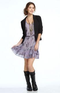 Frenchi® Blazer & Mimi Chica Ruffle Dress