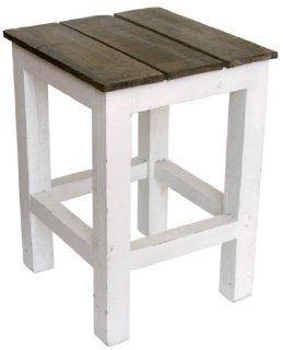 Ib Laursen   Hocker aus Holz, Ma�e B 31cm x H 41cm x T 31cm (5229 11) Küche & Haushalt