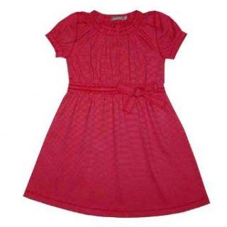 LANA natural wear Baby   M�dchen Babykleidung/ R�cke & Kleider, Gr. 74/ 80 Rot (tomate / gerbera) (tomate / gerbera): Bekleidung
