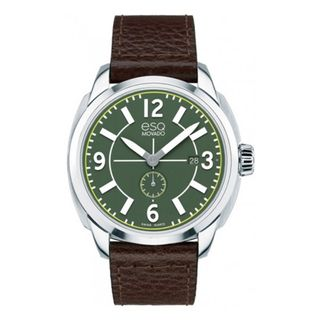ESQ Men's Stainless Steel Swiss Green Watch Men's ESQ Watches
