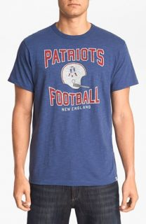 47 Brand New England Patriots   Scrum Graphic T Shirt