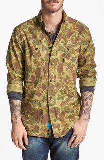 Penfield Lumsden Camo Print Work Shirt