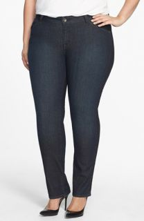 Lucky Brand Ginger Straight Leg Jeans (Plus Size)