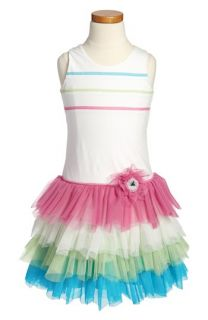 Isobella & Chloe Tutti Frutti Sleeveless Dress (Little Girls & Big Girls)