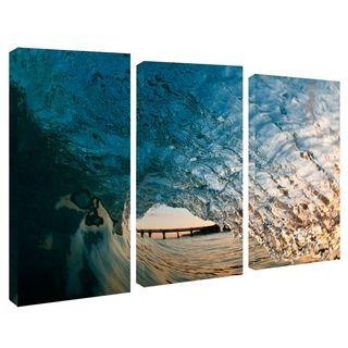 Nicola Lugo 'Surf Photography' Canvas Art 3 piece Set Ready2hangart Canvas