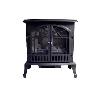 Aspen Collection Electric Wood Burning Stove Indoor Fireplaces