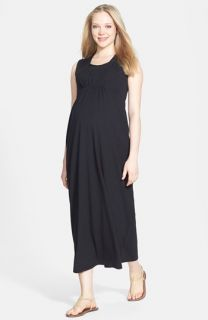 Japanese Weekend Maxi Maternity/Nursing Dress