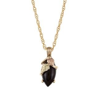 Black Hills Gold Onyx Necklace Black Hills Gold Black Hills Gold Necklaces