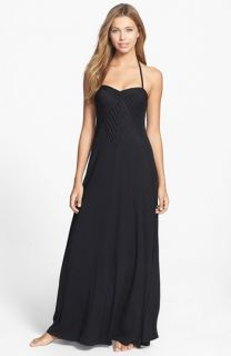 Robin Piccone Karina Pleat Cover Up Maxi Dress