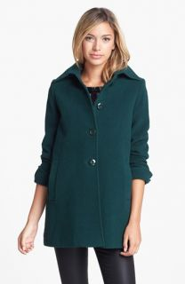 Kristen Blake Wool Blend A Line Coat (Regular & Petite) ( Exclusive)