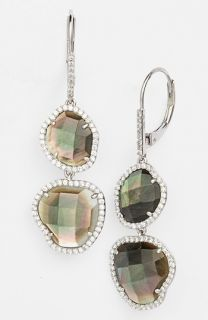 Nadri Doublet Drop Earrings ( Exclusive)