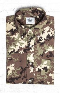 Mark McNairy Digi Camo Short Sleeve Woven Shirt ( Exclusive)