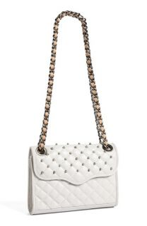 Rebecca Minkoff Quilted Mini Affair with Studs Convertible Crossbody