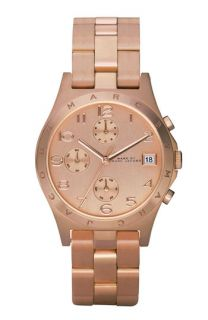 MARC BY MARC JACOBS Henry Rose Gold Chronograph Watch, 37mm