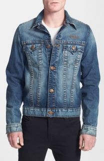 True Religion Brand Jeans  Danny   Motorcycle Club Trim Fit Denim Jacket