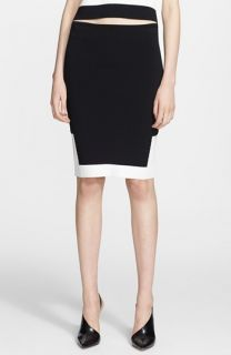 Alexander Wang Colorblock Pencil Skirt